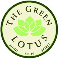 the green  lotus logo